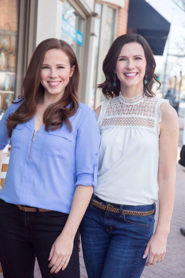 Megan Ziebarth and Colleen Rubio